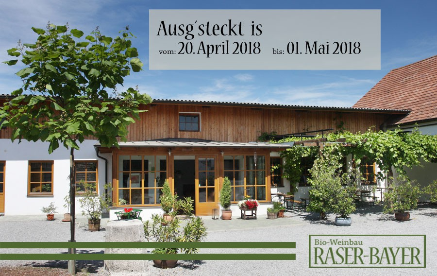 Ausg´steckt is im April